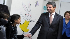 """Presidenti Rosen Plevneliev i dha start fushatës së sivjetshme bamirëse """"Krishtlindjet bullgare""""."""