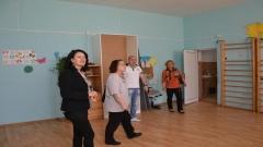 Екип на Радио Благоевград на посещение в Дневния център за възрастни хора в град Симитли
