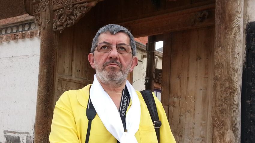 Георги Арнаудов в Китай