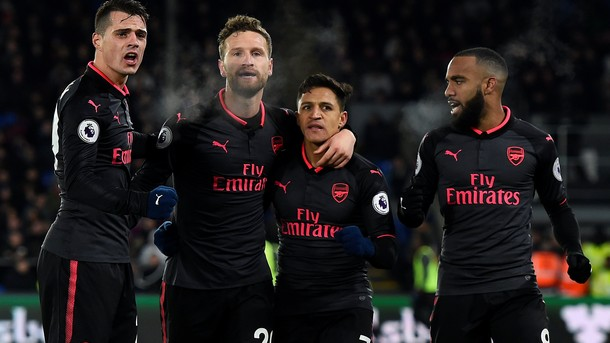 Арсенал победи Кристъл Палас като гост с 3:2 в мач