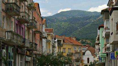 Pamje nga qyteti Goce Dellçev