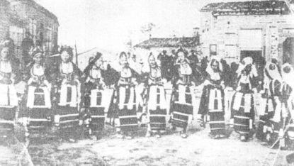 Последното свободно Тракийско хоро в село Булгаркьой 1912 г.