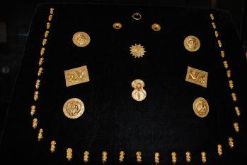 Кралевското златно съкровище експонирано в РИМ- Шумен