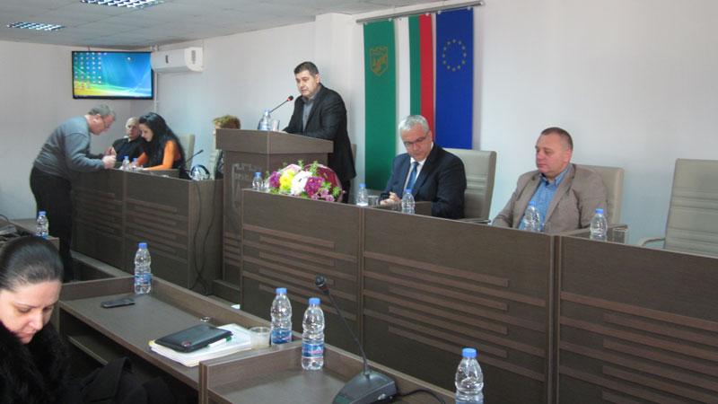 Новината беше съобщена на последното заседание на Общинския съвет