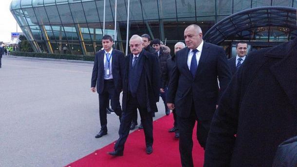 Artur Rasizade und Bojko Borissow