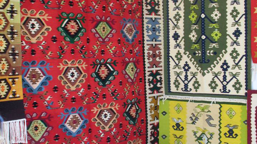 Velika Stoeva from the Bulgarian town of Chiprovtsi has been weaving carpets since she was a child. All the women in her family were weavers and the weaving ...