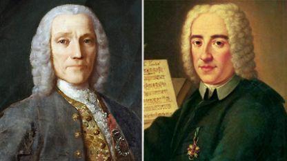 Доменико (вляво) и Алесандро Скарлати