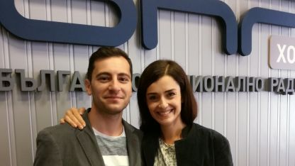 Ана Пападопулу и Александър Хаджиангелов