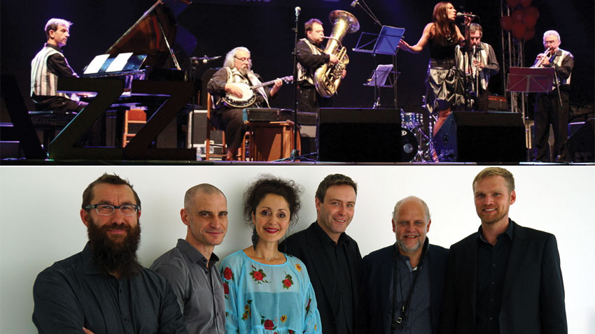 Ragtime Band ve lexandrina Simeon Quintet&Benny Brown