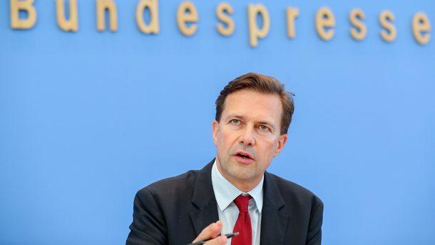 Говорителят на германското правителство Щефен Зайберт
