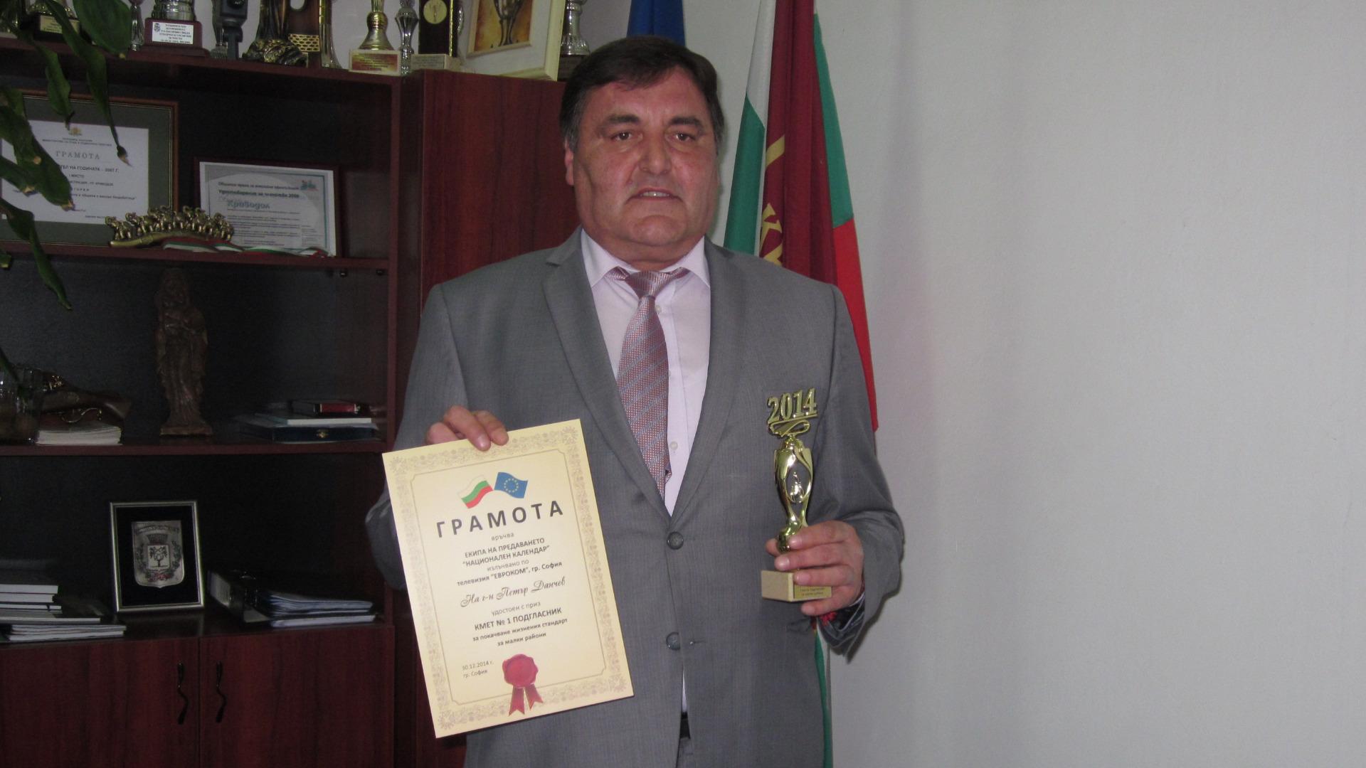 Петър Данчев, кмет на Криводол