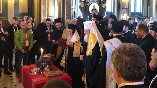 Церемония в храме Святого Стефана