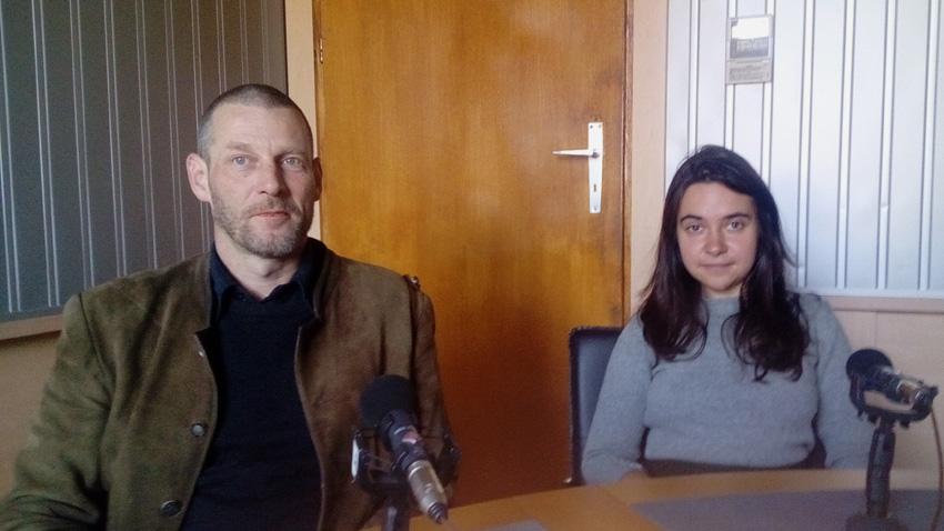 Ееро Туркка и Петя Димитрова.