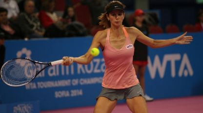 Цветана Пиронкова с втора загуба в Турнира на шампионките