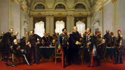 """""""Берлинският конгрес"""", худ. Антон фон Вернер"""