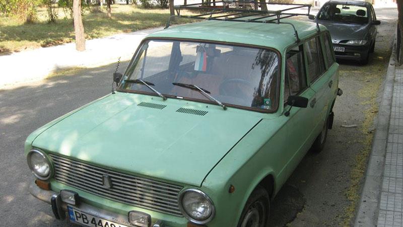 Жигула комби от `79 година е рибарската кола на Георги.