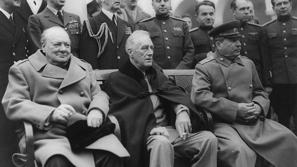 Резултат с изображение за Огласена е Московската декларация от съюзниците в т. нар. антихитлеристка коалиция