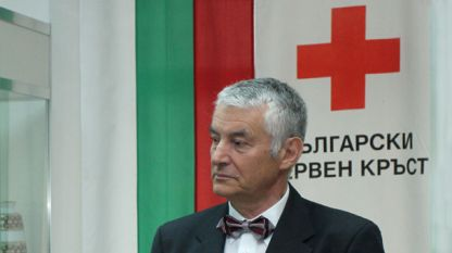 Bulgarian Red Cross President Hristo Grigorov
