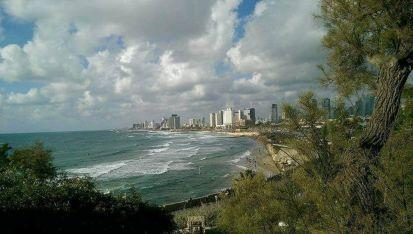 Изглед от Тел Авив