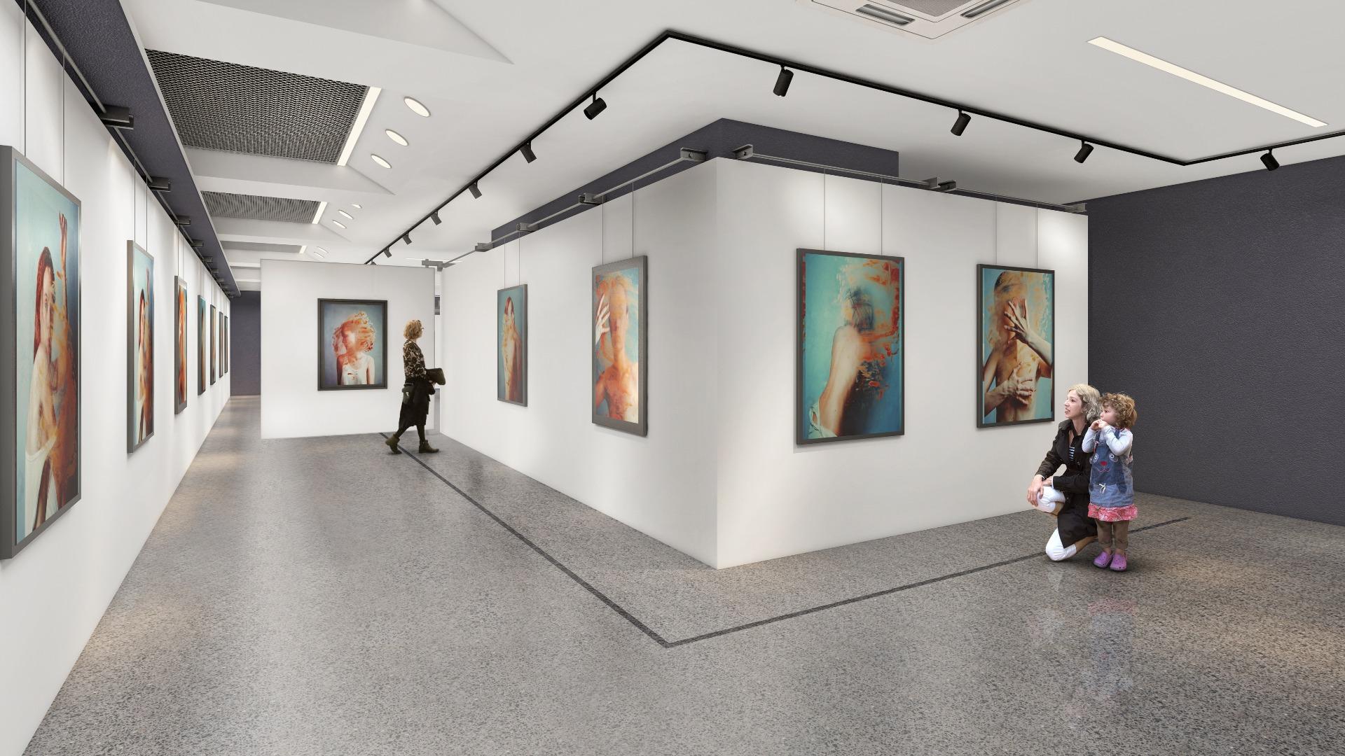 Проект на бъдещата галерия
