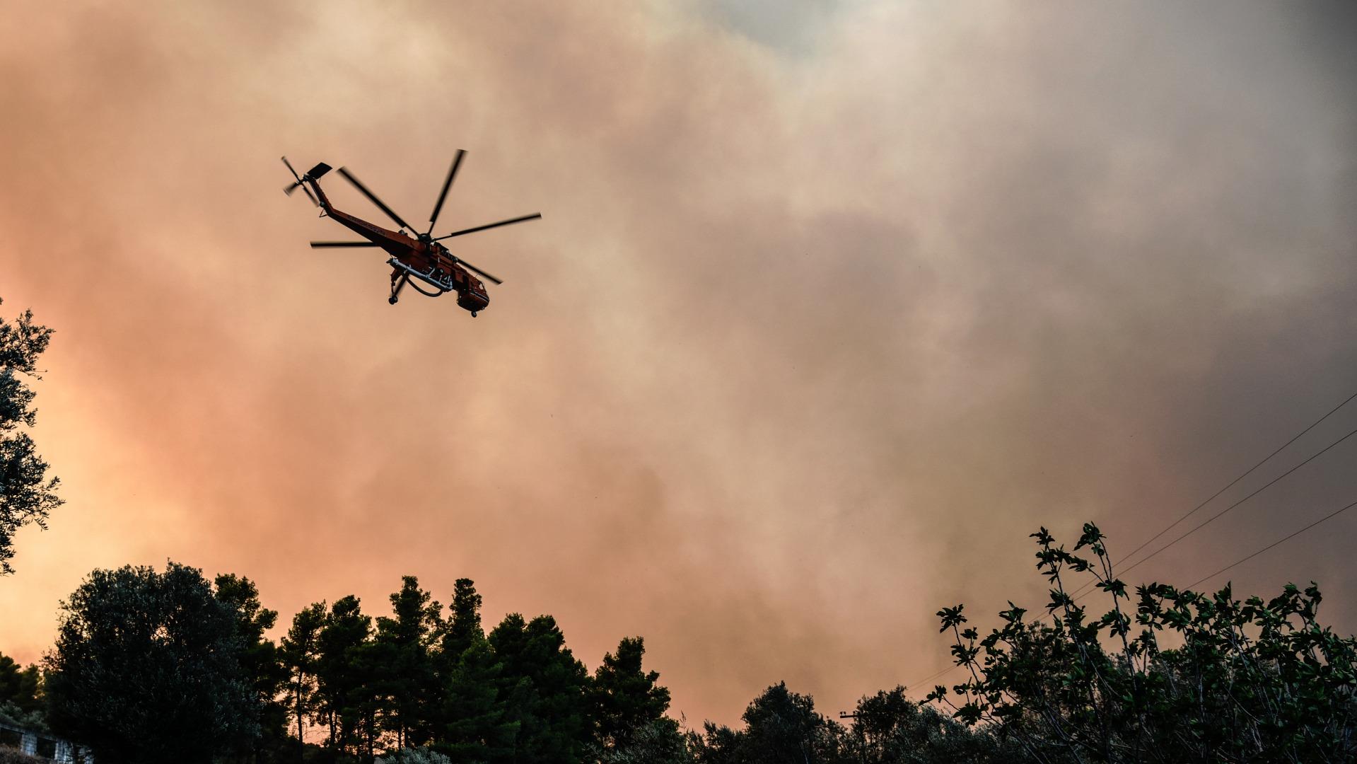 Властите на канадската провинция Британска Колумбия организираха евакуацията на жителите