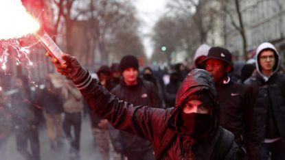 Демонстранти в Париж