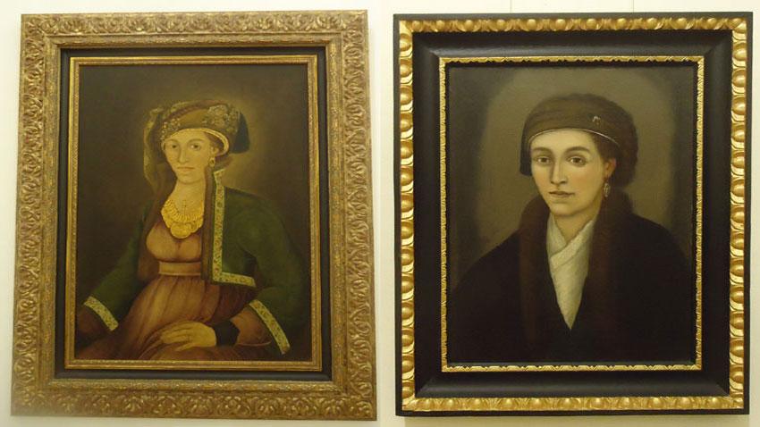 Zahari Zograf ve Stanislav Dospevski - Hristiyaniya Zografska portreleri.
