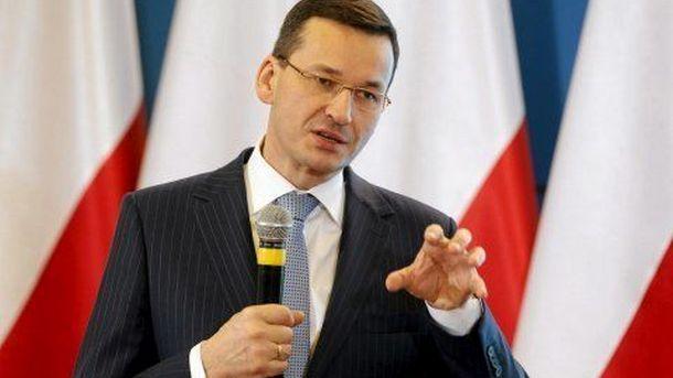 Полският министър-председател Матеуш Моравецки
