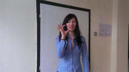 Обучителен курс по жестомимичен език