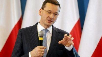 Премиерът на Полша Матеуш Моравецки
