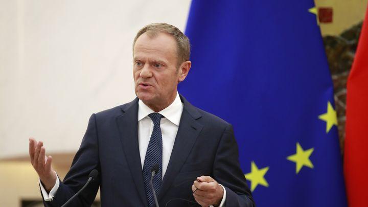 Председателят на Съвета на ЕС Доналд Туск