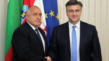 Бојко Борисов и Андреј Пленковић у Загребу