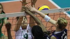 Девойките ни ще играят за бронза на европейското по волейбол
