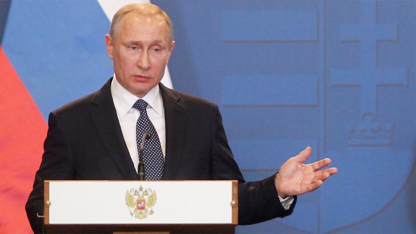 "Владимир Путин в Унгария: Русия не е обидена на България заради ""Южен поток"""