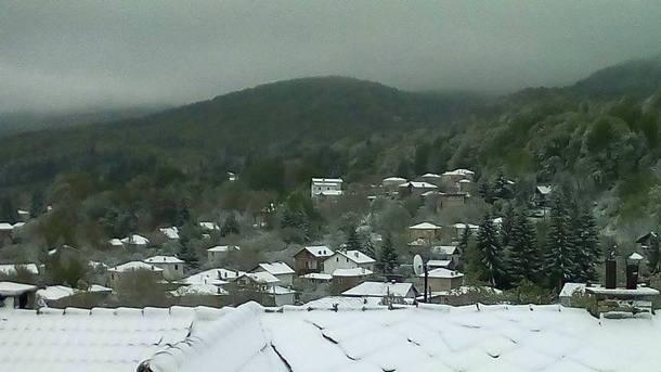 Снежен ден в Родопите