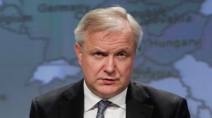 Оли Рен, управител на Финландската централна банка и член на ЕЦБ