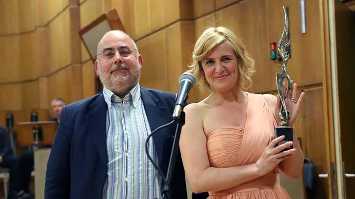 Мария Цветкова и Момчил Георгиев от УС на БНР