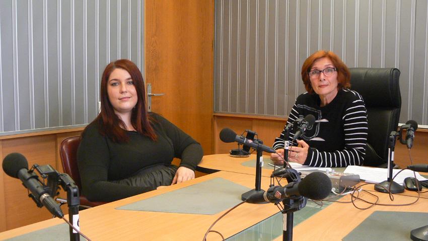 Пам Велидис (вляво) и Цвета Николова.