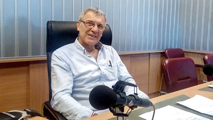 """Пламен Старев в студиото на програма """"Христо Ботев""""."""