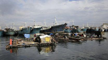 Последствията от бурята на Филипините
