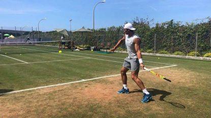 Рафаел Надал тренира в Майорка