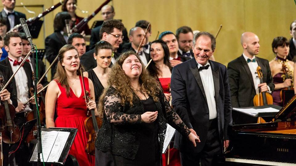 Пламена Мангова, Кристиан Мандял и Румънският национален оркестър