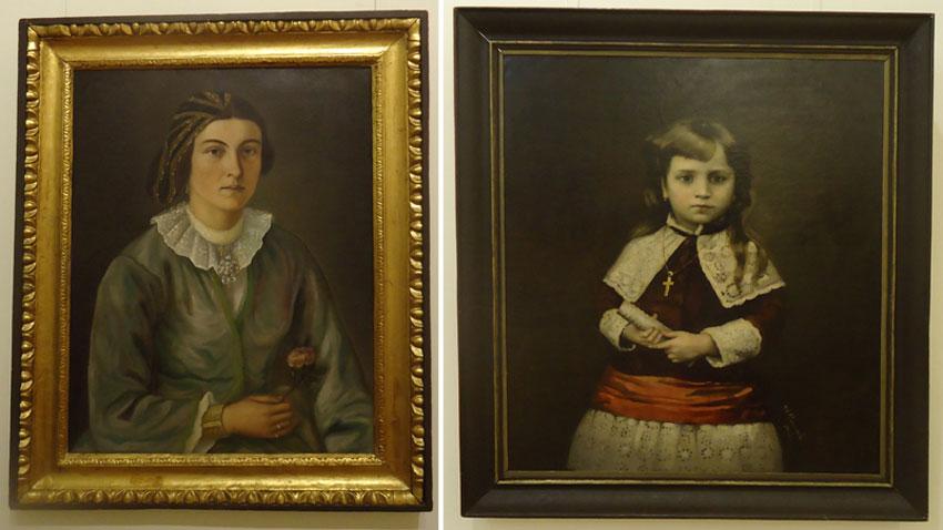 Stanislav Dospevski - Domnika Lambreva portresi. İvan Dimitrov- Çocuk portresi.