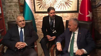 Встреча Б. Борисова и Б. Йылдырыма в Стамбуле