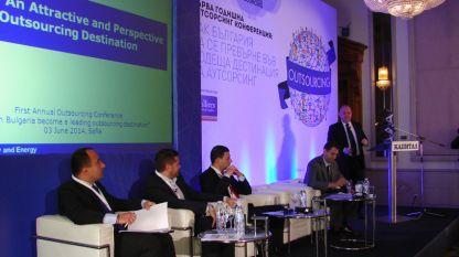 Представители правительства и бизнеса искали ответ на вопрос, как Болгария может превратиться в ведущую дестинацию для аутсорсинга на первой годовой конференции сектора