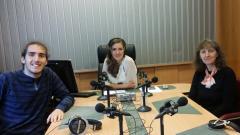 Цоньо Цветков, Калина Станева и Надежда Цветкова в студиото на предаването.