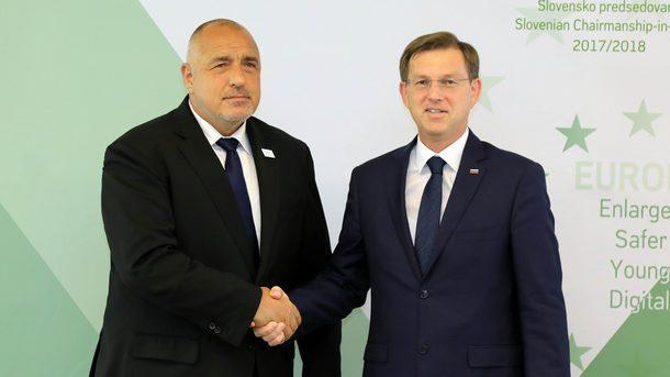 Бойко Борисов и Мирослав Церар