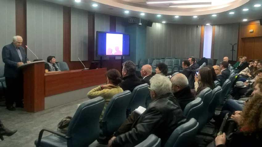 Prezantimi i librit në Universitetin e Sofjes