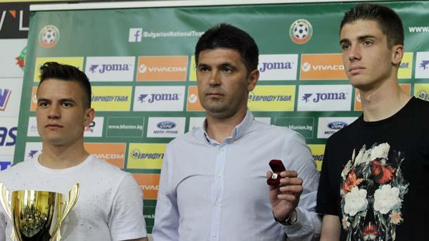 Ангел Стойков ще разчита на Андреа Христов (вдясно)