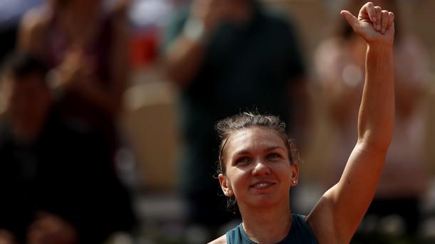 Световната номер 1 Симона Халеп се класира за полуфиналите на